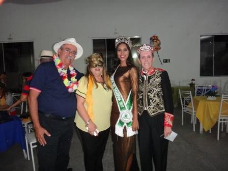 Romulo L. Bezerra, Yara Portugal Lima e Cruz Presidente da Women's Club, Miss feira Carolina Lima Silva e Ailton Pitombo