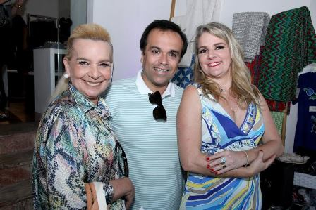 Vera Benguell, Alessandro Monteiro e Cláudia Jannuzzi