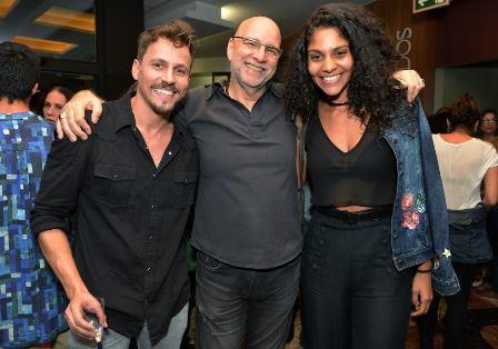 Well Aguiar , Marcus Alvisi e Barbara Reis