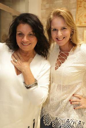 Christiana Felows e Renata Costa
