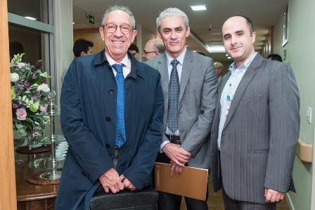 Eduardo Linhares, Rinaldo Goncalves e Amaury Raia