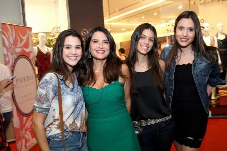 Leticia Protásio, Fernanda Chies, Juliana Medici e Marina Chies