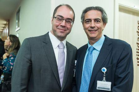 Marcus Vinicius Martins e Claudio Domenico