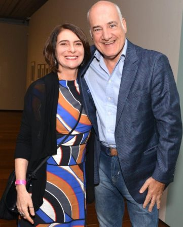 Monica Barki e Marcelo Itagiba