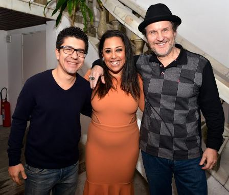 Paulo Mathias , Evelyn CAstro e Antonio Callone