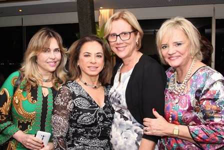 Eliane Ovalle, Yvonne Bezerra de Mello, Sylvia Jane Crivella e Vera Valeska