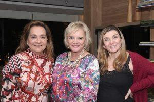 Claudia Simões, Vera Valeska e Olga Okin