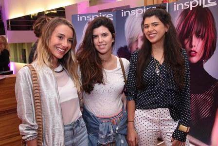 Maria Pallegrino,Carolina Koeler e Manoela Pinto