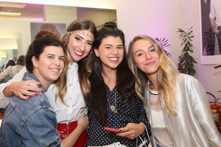 Carolina Koeler,Lu D'angelo,Manoela Pinto e Maria Pellegrino