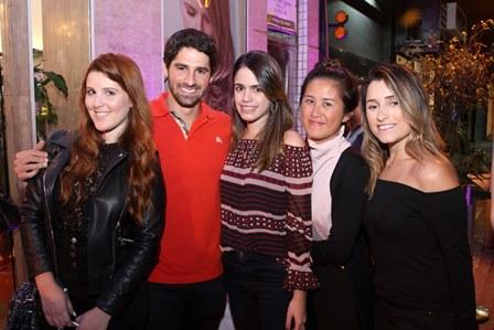 Gabriela Icarelli,Jc Lopes,Rafaela Muller,Diana Hsu e Ana Clara