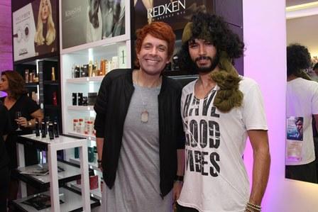 Andre Abreu e Bernard Massaud