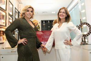 Adriana Calmon e Celia Saint Clair