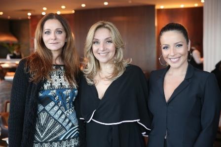 Alexandra Richter, Angela Lemos e Renata Dominguez