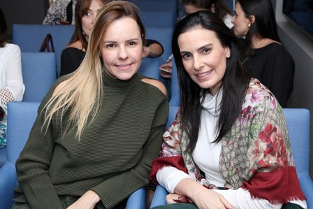 Aline Barata e Lana Penna
