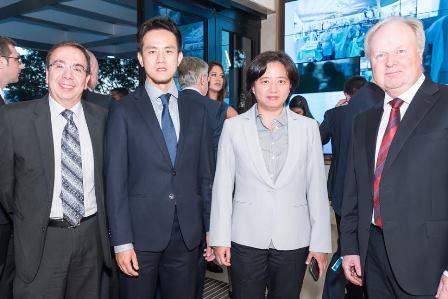 Antonio Carlos Ribeiro, Wayne Huang, Janet Huang Heinrich Kolem