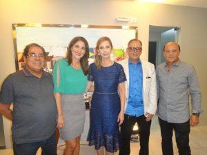 Antonio Jose Larangeira, Ana Paula Pereira, Maria Vitoria e Roberto Costa e Pulo