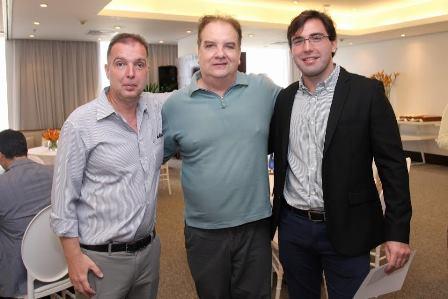 Bayard Boiteux, Rawlson de Thuin e Murilo Sabino