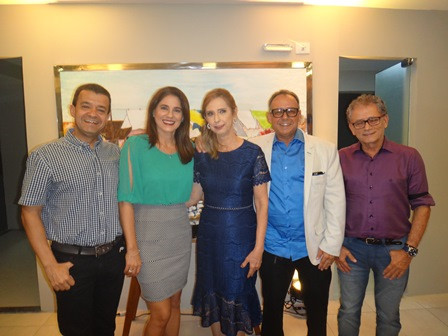 Carlos Alberto e Ana Paula Pereira, Maria Vitoria e Roberto Costa, José Lino Carneiro