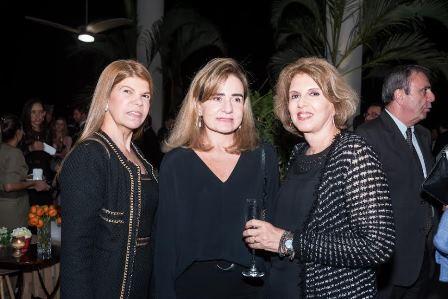 Dinalva Costa, Flavia Moreira e Maria Helena Kropf