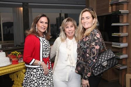 Dirce Motta, Viviane Cohen e Leila Albuquerque