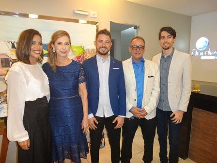 Jaqueline Barreto, Maria Vitoria, Raphael, Roberto e Victor Costa