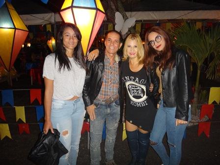 Joice Camila, Reginaldo e Regina Calita e Maria Luiza Silva