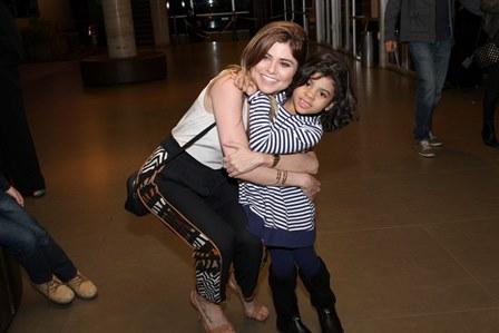 Juliana Trevisol com a Afilhada Yasmin
