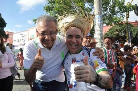 Os deputados Carlos Geilson e Zé Neto