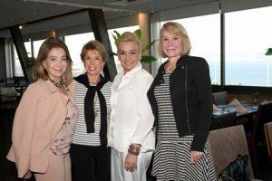 Regina Valle, Vera Tostes, Vera Bangel e Marcia Teixeira