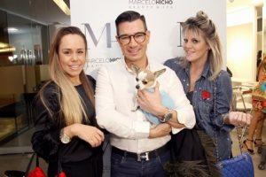 Sabrina Vasconcelos, Marcelo Hicho(Francesco) e DJ Scarlet