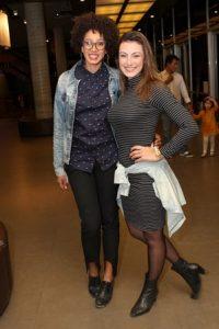 Sther Dias e Aline Malafaia