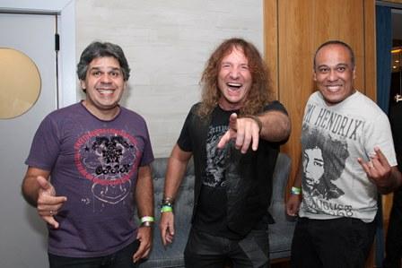 Paulo Renato Maciel, Fabio Rizental e Robinson Rocha Banda Skelters