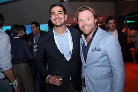 Mr Haider Abed Ali e Mr Magnus Lasen