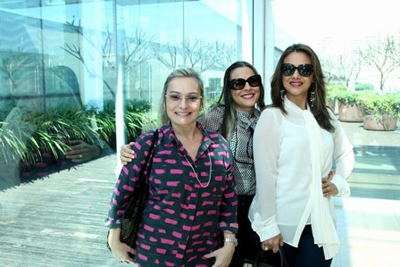 Valeria Martins, Aline Donato e Ana Teresa Patrão