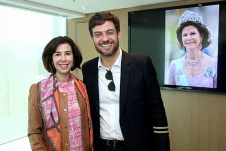 Monica de Carvalho e Bruno Astuto