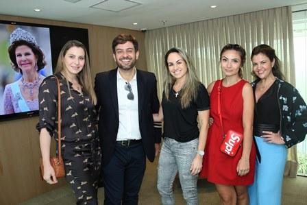 Maisa Vasconcelos, Bruno Astuto, Patrice Pessoa Kelly Correa e Dani Papini