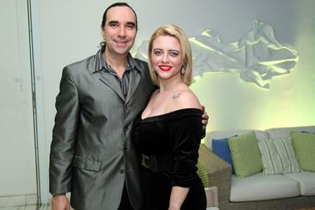 Helcio Hime e Camilla Carvalho