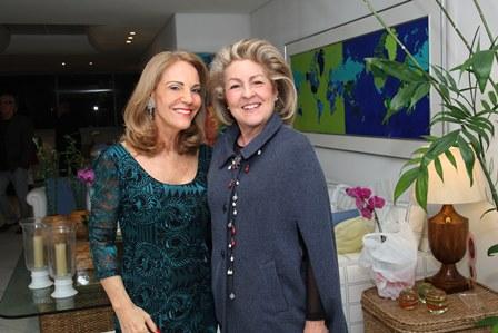 Ana de Paula e Margareth Padilha