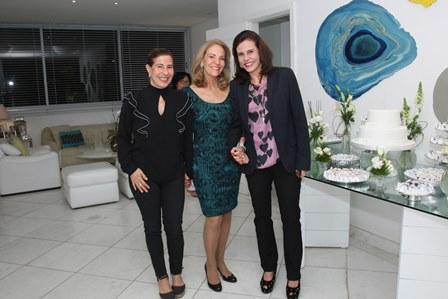 Alice Tamborindeguy, Ana de Paula e Narcisa Tamborindeguy