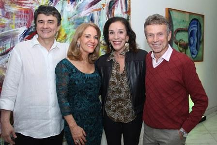 Renato Sant'ana, Ana de Paula, Alicinha Silveira e Marco Rodrigues