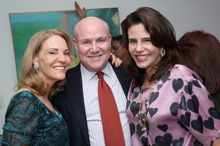 Ana de Paula, Paulo Muller e Narciza Tamborindeguy