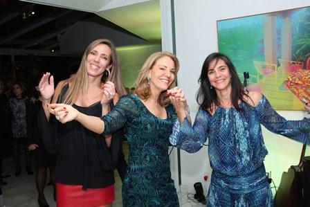 Patricia, Ana e Andrea de Paula