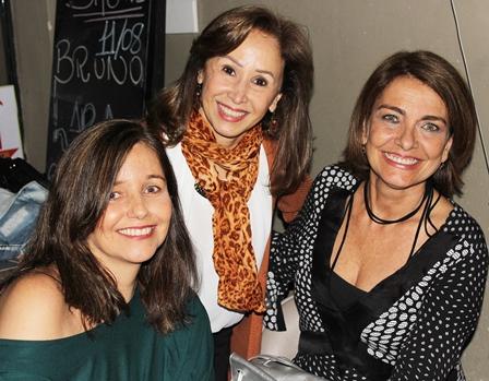 Anna Rita, Heloisa Figueiredo e Dulcinéa Nunes no Clube do Jazz