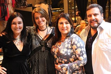 Cacau Dias, Heloisa Figueiredo, Lia Maciel e Paulo Alonso
