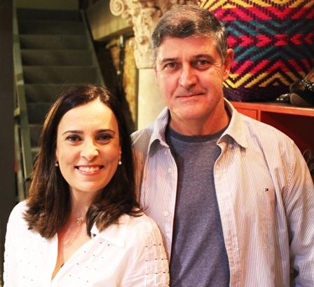 Carmem Alves e José Carlos Quaresma Filho no Clube do Jazz