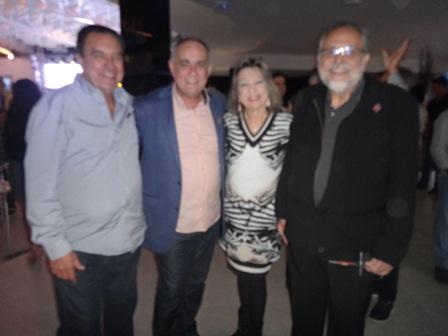 Deraldo Pereira, Jodilton Souza, Ana Maria Pereira e Luiz Humberto de Carvalho