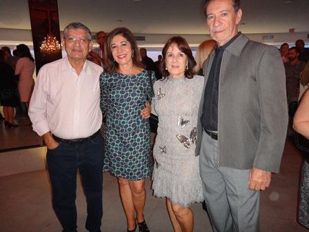 Dilson e Angelica Barbosa, Ligia Mota e Gil Mario Oliveira