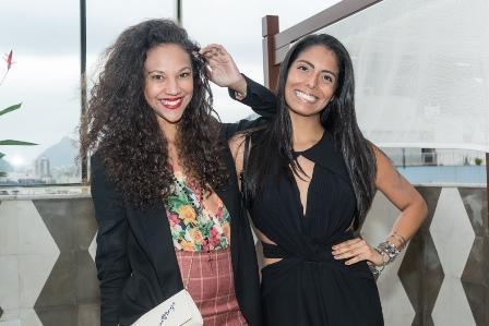 Elaine Enyalle e Nanda Nunes