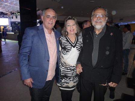 Jodilton Souza, Ana Maria Pereira e Luiz Humberto de Carvalho