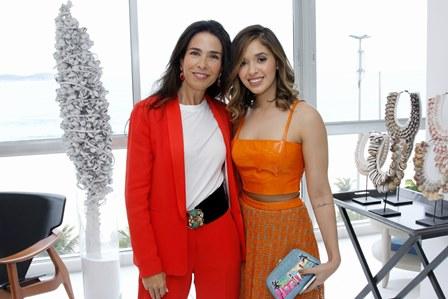 Cristina Rotondaro e Layla Fonseca